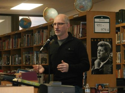 Swim The Fly Author Visits West Library