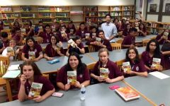 Author Matt de la Peña visits Morton West