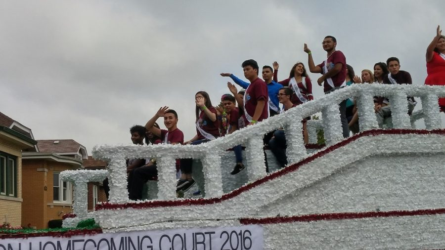 2016 Homecoming Parade