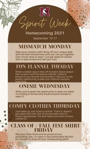 Get Ready For Spirit Week!