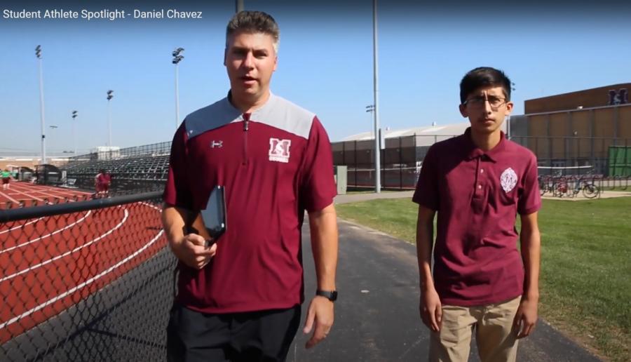 District 201 Student Athlete Spotlight:  Daniel Chavez